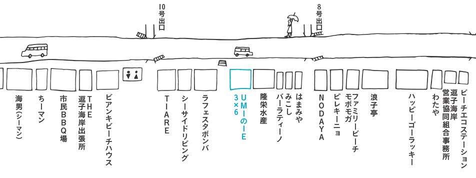 UMIのIE 3x6(ウミノイエサブロク)